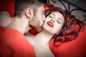 Горячая любовь с оргазмом